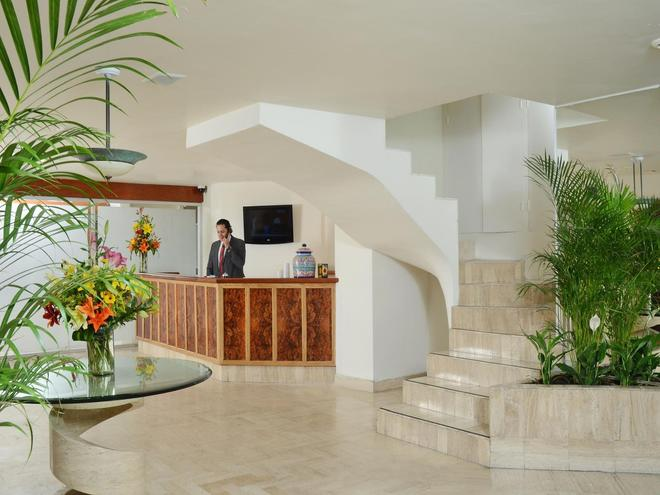 左拉羅莎米西翁快捷酒店 - 墨西哥城 - 墨西哥城 - 櫃檯