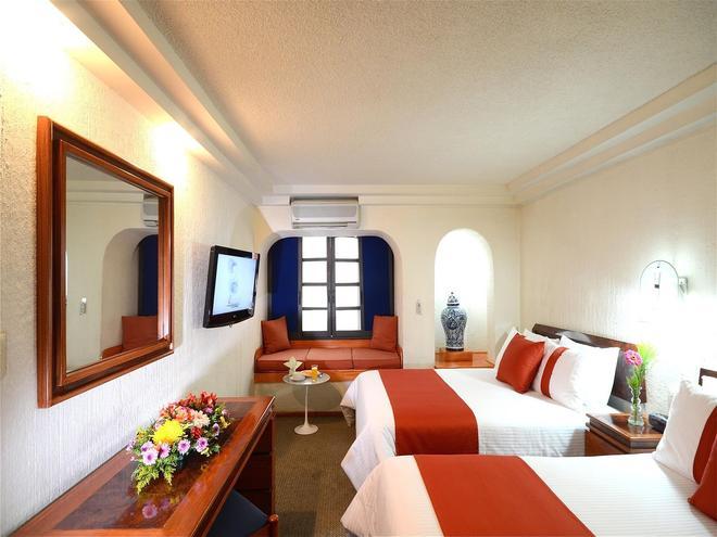 左拉羅莎米西翁快捷酒店 - 墨西哥城 - 墨西哥城 - 臥室