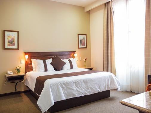 米西翁莫雷里亞大教堂酒店 - 莫雷利亞 - 莫雷利亞 - 臥室