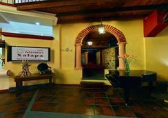 米西翁哈拉帕拉斯公約廣場酒店 - 哈拉帕 - 哈拉帕 - 大廳