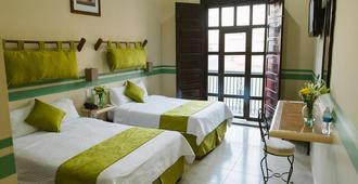 米西翁坎佩切中美洲歷史酒店 - 坎佩切 - 坎佩切 - 臥室
