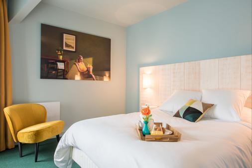 Le Central Boutique-Hôtel - Beaune Centre - Beaune - Bedroom