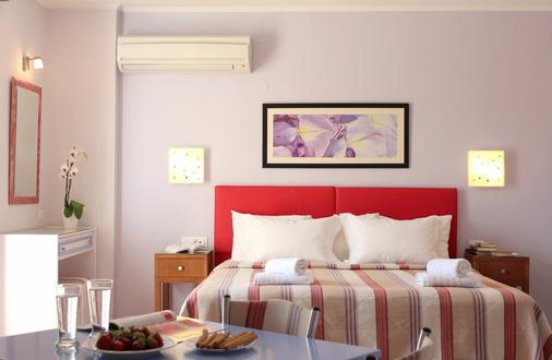 Amaryllis Hotel Apartments - Tolo - Bedroom