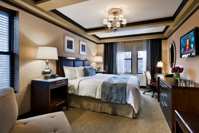 麗城酒店 - 紐約 - 臥室