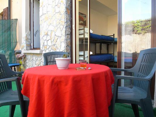 Hostel California - Mailand - Innenhof