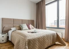 Old Town - River Point By Welcome Apartment - Gdansk - Bedroom