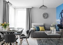 Old Town - Oldnova By Welcome Apartment - Gdansk - Phòng ăn