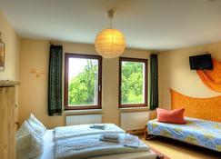 Hotel GreifenNest - רוסטוק - חדר שינה