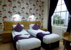 加的夫酒店 - 倫敦 - 臥室