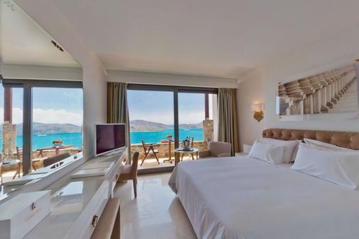 皇家馬敏灣精品藝術酒店 - 只招待成人入住 - 阿吉歐斯尼古拉斯 - 伊羅達 - 臥室