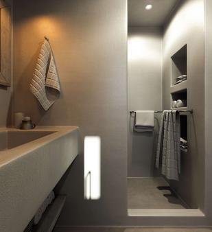 桑托瑪里斯歐亞豪華套房酒店 - 聖托里尼 - 伊亞 - 浴室