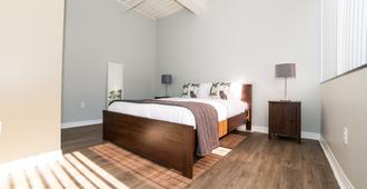 Ginosi Metropolitan Apartel - Los Angeles - Schlafzimmer