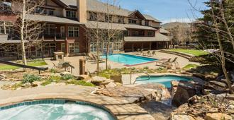 大木旅館 - 布雷肯里奇 - 游泳池