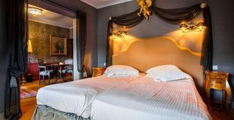 Hotel Die Swaene - Bruges - Camera da letto
