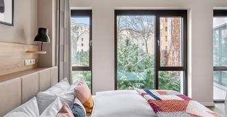 numa | Nook Rooms & Apartments - Berlin - Soveværelse