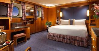 The Queen Mary - לונג ביץ' - חדר שינה