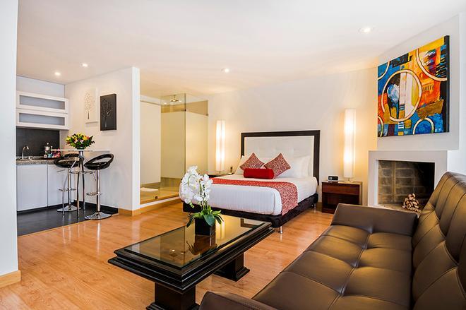 Hotel Hill House - Bogotá - Bedroom