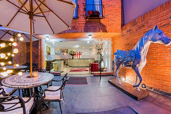 Hotel Hill House - Bogotá - Patio
