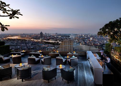 Millennium Hilton Bangkok - Bangkok - Balcón
