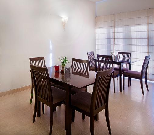 Oyo 1482 Hotel Gem 92 - New Delhi - Phòng ăn