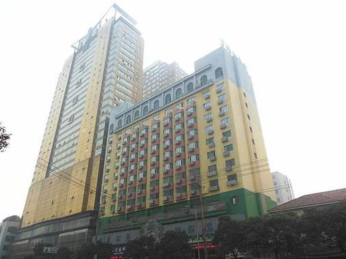 Greentree Inn Jiangxi Nanchang Railway Station Zhanqian Road Express Hotel - Nanchang - Building