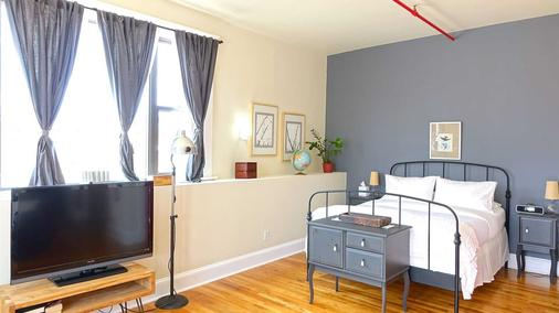 The Box House Hotel - Brooklyn - Bedroom