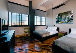 The Paper Factory Hotel - Queens - Phòng ngủ