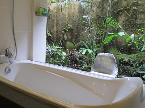 塔曼哈勒姆別墅酒店 - 馬斯 - 烏布 - 浴室