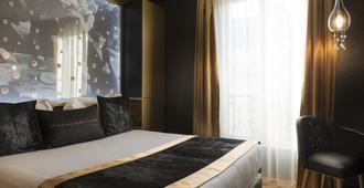 Hotel Les Bulles De Paris - Pariisi - Makuuhuone