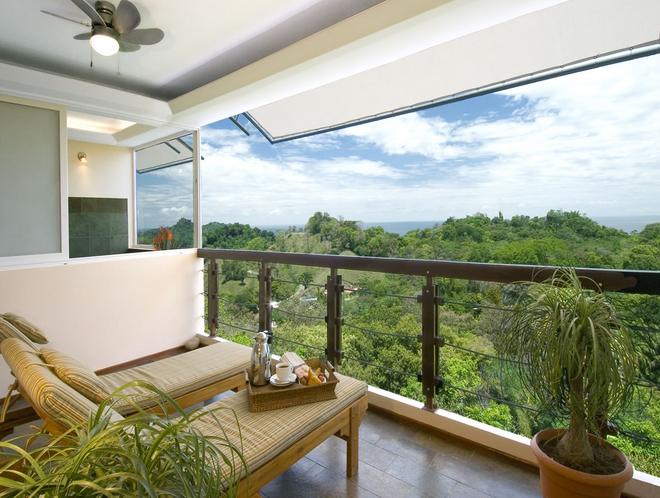 Gaia Hotel And Reserve - Adults Only - Manuel Antonio - Parveke