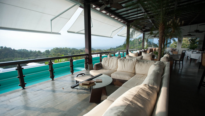 Gaia Hotel And Reserve - Adults Only - Manuel Antonio - Innenhof