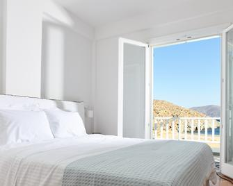 Eneos Kythnos Beach Villas - Kythnos - Bedroom