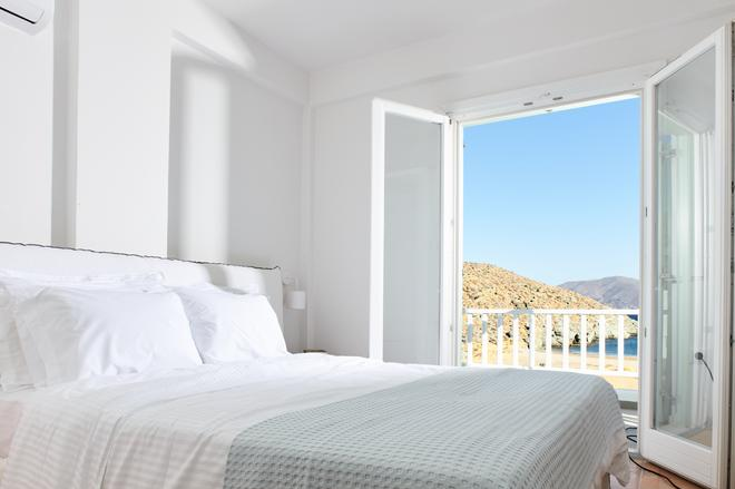 Eneos Kythnos Beach Villas - Kythnos - Bedroom