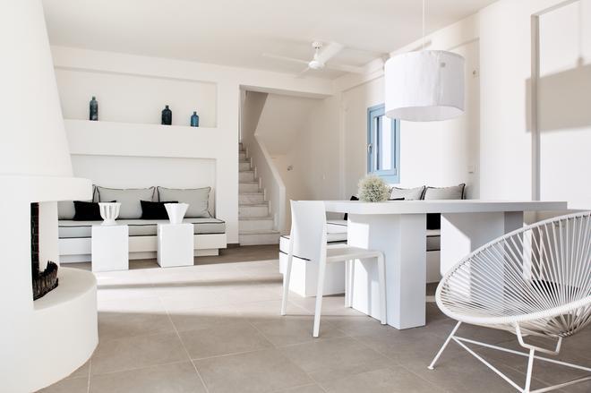 Eneos Kythnos Beach Villas - Kythnos - Lounge