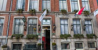 โรงแรมปรินเซนกราคต์ - อัมสเตอร์ดัม - อาคาร