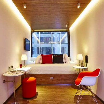 citizenM New York Times Square - New York - Phòng ngủ