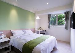 Green Hotel - Fengjia - Taichung - Bedroom