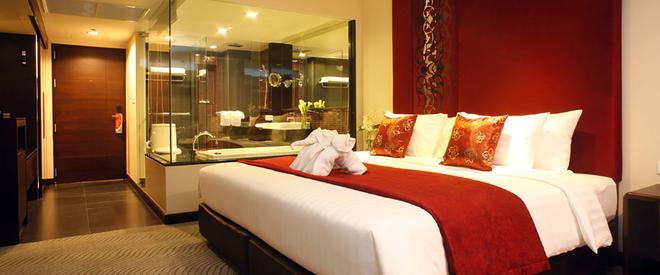 西隆富麗華酒店 - 曼谷 - 臥室