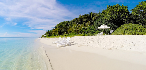 Island Vista Inn - Ukulhas - Strand