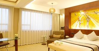 Grand Skylight Hotel Shenzhen - Shenzhen - Schlafzimmer