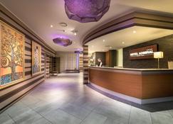 Hotel Admiral - Lugano - Rezeption