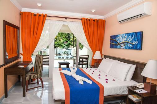 天堂海灘酒店 - 內岡坡 - 尼甘布 - 臥室