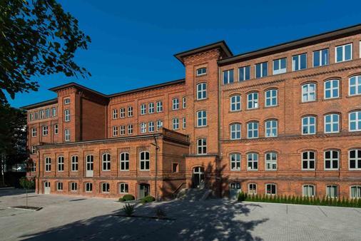 Hotel Volksschule - Гамбург - Здание