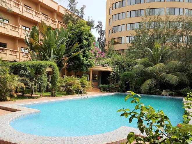 Hotel Massaley - Bamako - Piscina