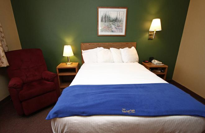 New Victorian Inn & Suites Kearney - Kearney - Soveværelse