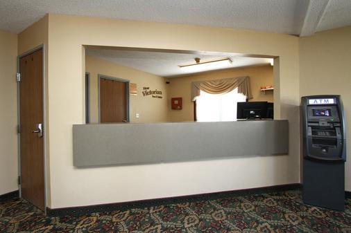 New Victorian Inn & Suites Kearney - Kearney - Front desk