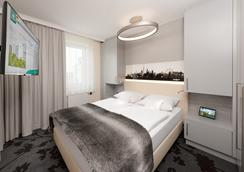 SI 套房酒店 - 斯圖加特 - 司徒加特 - 臥室
