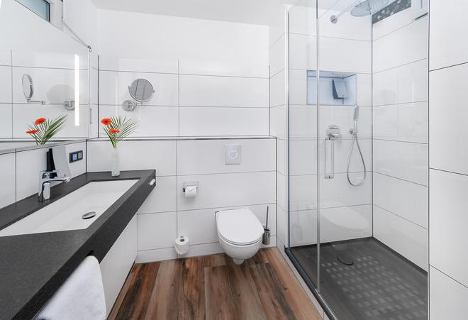 SI 套房酒店 - 斯圖加特 - 司徒加特 - 浴室