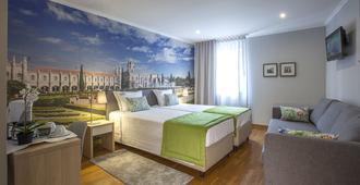 Famous Crows Lisbon Suites - ליסבון - חדר שינה