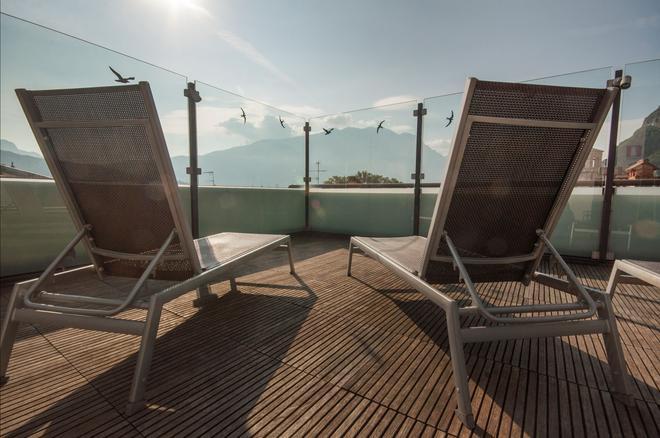 Hotel Antico Borgo - Riva del Garda - Terrasse